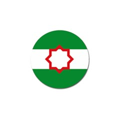 Nationalist Andalusian Flag Golf Ball Marker (10 Pack) by abbeyz71