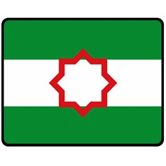 Nationalist Andalusian Flag Fleece Blanket (medium)