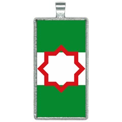 Nationalist Andalusian Flag Rectangle Necklace