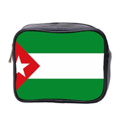 Flag Of Andalucista Youth Wing Of Andalusian Party Mini Toiletries Bag (two Sides)