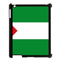 Flag Of Andalucista Youth Wing Of Andalusian Party Apple Ipad 3/4 Case (black) by abbeyz71