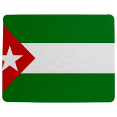 Flag Of Andalucista Youth Wing Of Andalusian Party Jigsaw Puzzle Photo Stand (rectangular) by abbeyz71