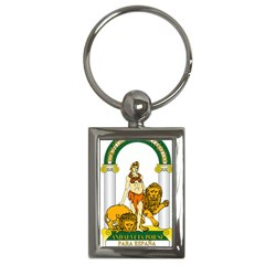Emblem Of Andalusia Key Chains (rectangle)  by abbeyz71