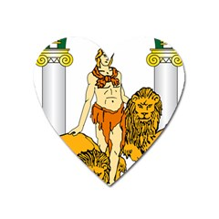 Emblem Of Andalusia Heart Magnet by abbeyz71