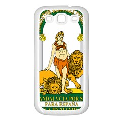 Emblem Of Andalusia Samsung Galaxy S3 Back Case (white) by abbeyz71