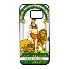 Emblem Of Andalusia Samsung Galaxy S7 Black Seamless Case by abbeyz71