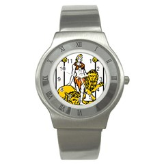 Emblem Of Andalusia Stainless Steel Watch by abbeyz71