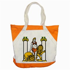 Emblem Of Andalusia Accent Tote Bag by abbeyz71