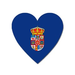 Flag Of Murcia, 1976 1982 Heart Magnet by abbeyz71