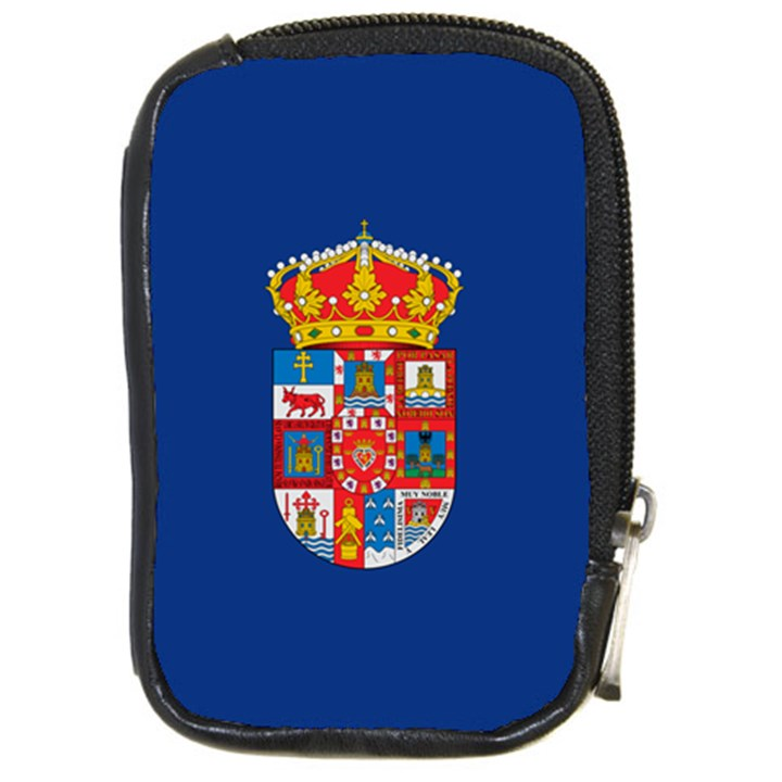 Flag of Murcia, 1976-1982 Compact Camera Leather Case