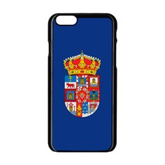 Flag Of Murcia, 1976 1982 Apple Iphone 6/6s Black Enamel Case by abbeyz71