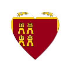 Coat Of Arms Of Murcia Heart Magnet by abbeyz71