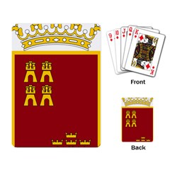 Coat Of Arms Of Murcia Playing Cards Single Design by abbeyz71