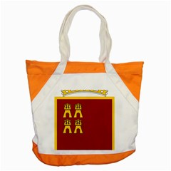 Coat Of Arms Of Murcia Accent Tote Bag by abbeyz71