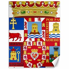 Coat Of Arms Of The Former Province Of Murcia Canvas 18  X 24  by abbeyz71