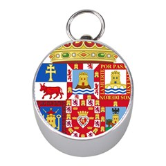 Coat Of Arms Of The Former Province Of Murcia Mini Silver Compasses by abbeyz71