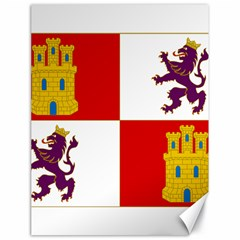 Flag Of Castile & León Canvas 18  X 24  by abbeyz71