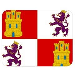 Flag Of Castile & Le¨?n Double Sided Flano Blanket (medium)  by abbeyz71