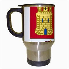 Coat Of Arms Of Castile And Le¨?n Travel Mugs (white) by abbeyz71