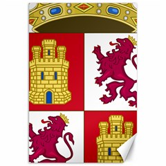 Coat Of Arms Of Castile And Le¨?n Canvas 20  X 30