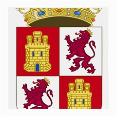 Coat Of Arms Of Castile And León Medium Glasses Cloth by abbeyz71
