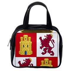 Coat Of Arms Of Castile And Le¨?n Classic Handbag (one Side) by abbeyz71