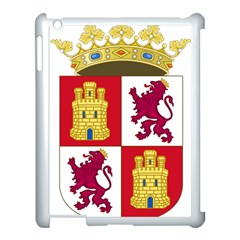 Coat Of Arms Of Castile And Le¨?n Apple Ipad 3/4 Case (white) by abbeyz71