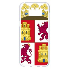 Coat Of Arms Of Castile And Le¨?n Samsung Galaxy S8 Plus White Seamless Case by abbeyz71