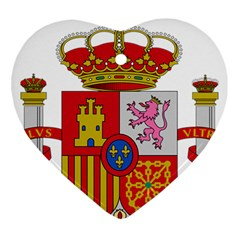 Coat Of Arms Of Spain Ornament (heart) by abbeyz71