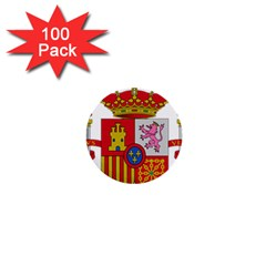 Coat Of Arms Of Spain 1  Mini Buttons (100 Pack)  by abbeyz71