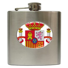 Coat Of Arms Of Spain Hip Flask (6 Oz) by abbeyz71