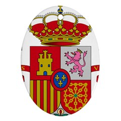 Coat Of Arms Of Spain Oval Ornament (two Sides) by abbeyz71