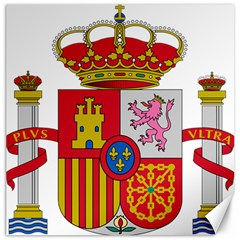 Coat Of Arms Of Spain Canvas 16  X 16  by abbeyz71