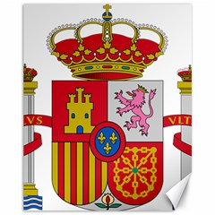 Coat Of Arms Of Spain Canvas 11  X 14  by abbeyz71