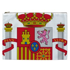 Coat Of Arms Of Spain Cosmetic Bag (xxl) by abbeyz71