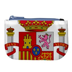 Coat Of Arms Of Spain Large Coin Purse by abbeyz71