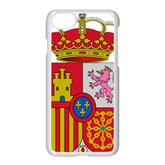 Coat Of Arms Of Spain Apple Iphone 7 Seamless Case (white) by abbeyz71