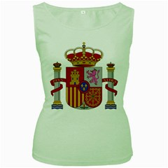 Coat Of Arms Of Spain Women s Green Tank Top