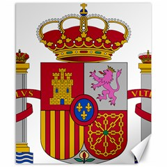 Coat Of Arms Of Spain Canvas 8  X 10