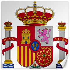 Coat Of Arms Of Spain Canvas 20  X 20  by abbeyz71