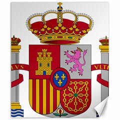 Coat Of Arms Of Spain Canvas 20  X 24