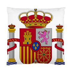 Coat Of Arms Of Spain Standard Cushion Case (one Side) by abbeyz71