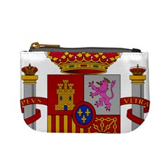 Coat Of Arms Of Spain Mini Coin Purse by abbeyz71