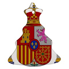 Coat Of Arms Of Spain Christmas Tree Ornament (two Sides)