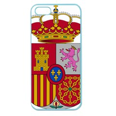 Coat Of Arms Of Spain Apple Seamless Iphone 5 Case (color) by abbeyz71