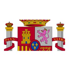 Coat Of Arms Of Spain Satin Wrap by abbeyz71