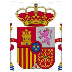 Coat Of Arms Of Spain Back Support Cushion by abbeyz71