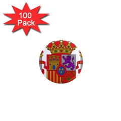 Coat Of Arms Of Spain 1  Mini Magnets (100 Pack)  by abbeyz71