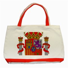 Coat Of Arms Of Spain Classic Tote Bag (red) by abbeyz71