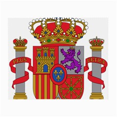 Coat Of Arms Of Spain Small Glasses Cloth (2 Side) by abbeyz71